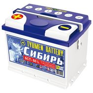 Купить в Ульяновске аккумулятор 6СТ-60 L «Сибирь» оп Tyumen Battery за 0 рублей