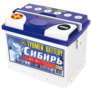 Купить в Ульяновске аккумулятор 6СТ-62 L «Сибирь» пп Tyumen Batter за 3800 рублей