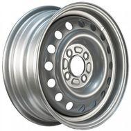 Купить в Ульяновске Диск колеса 5,5*14H2 4*100 ET43 dia60.1 Renault Logan Silver ( Trebl ) за 1050 рублей