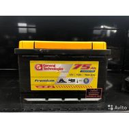 Купить в Ульяновске аккумулятор Аккумулятор 6 СТ - 75 General Technologies за 4500 рублей