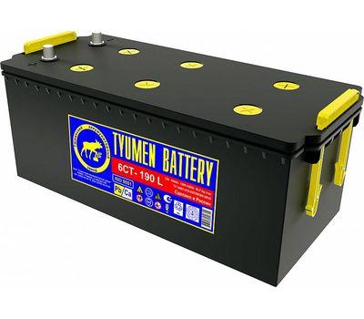 Купить в Ульяновске аккумулятор 6СТ-190L пп Tyumen Battery STANDARD АКБ за 11000 рублей