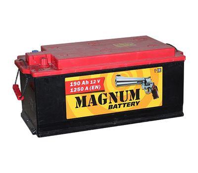 Купить в Ульяновске аккумулятор 6СТ - 190 АЗ Magnum ПП  болт / конус ( Казахстан ) за 8250 рублей