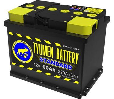 Купить в Ульяновске аккумулятор 6СТ-60L Tyumen Battery Standard за 3350 рублей