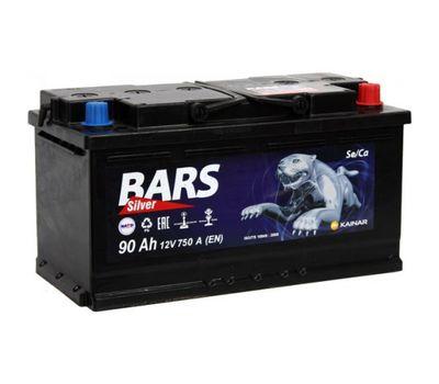 Купить в Ульяновске аккумулятор 6СТ-90 Bars Silver ПП за 0 рублей