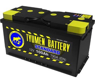 Купить в Ульяновске аккумулятор 6СТ-100L ПП Tyumen Battery за 6050 рублей
