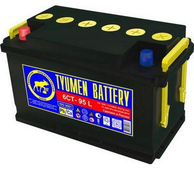 Купить в Ульяновске аккумулятор 6СТ-90L ПП Tyumen Battery Standard за 5050 рублей